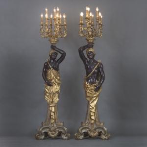 Напольные лампы